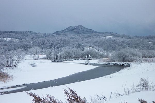 厚沢部町の四季 冬